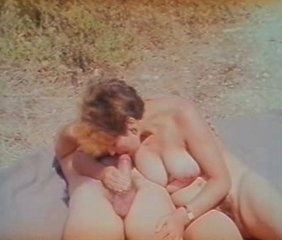 Blowjob MILF Natural Outdoor Vintage