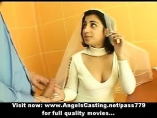 Bride Handjob Indian Teen Uniform