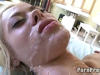 Cumshot Facial Massage Teen