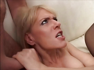 German Mature gangfucked