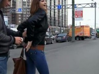 Jeans Outdoor Public Teen