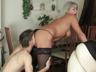 Mature Mom Old and Young Russian Stockings