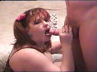 BBW Cumshot MILF Swallow Webcam Wife
