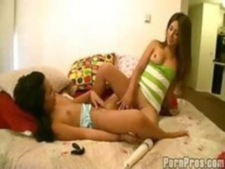 """Think these girls are lesbian? Then see how they pounce on cock!"""" target=""""_blank"""
