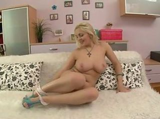 Blonde Chubby Natural Stripper Teen