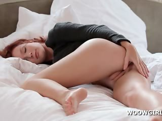 Cute European Pussy Sleeping Teen