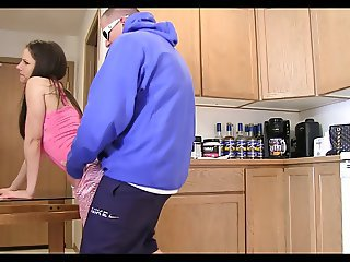 Doggystyle Kitchen Sister Teen