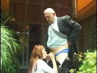Blowjob Daddy Old and Young Teen