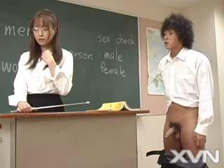 Asian Glasses Japanese MILF School Teacher