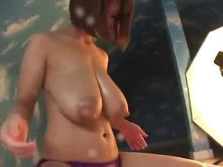 Japanese enormously giant milky tits