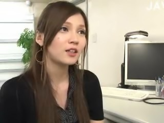 Asian Babe Cute Japanese Office