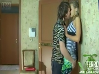 Babe Kissing Russian