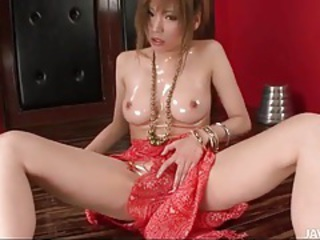 Asian Cute Japanese MILF Oiled