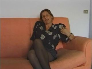 European Italian Mature Stockings