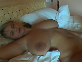 Amateur BBW Big Tits MILF Natural SaggyTits Sleeping