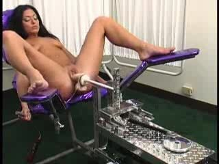 Machine Masturbating MILF