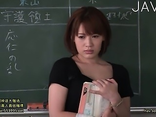Asian Babe Cute Japanese School Teacher