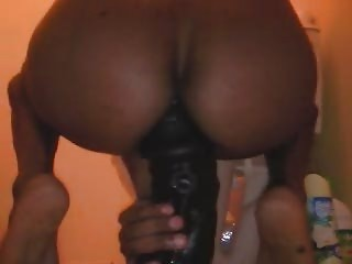 Very Big Dildo In My Ass (insertion) (4,72 Inches Wi...