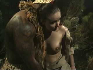 Babe Fantasy Interracial Outdoor Vintage