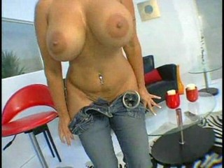 Amazing Big Tits Jeans MILF Piercing Pornstar Stripper