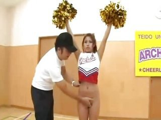 Asian Cheerleader Japanese Teen Uniform