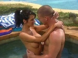 Kissing MILF Pool