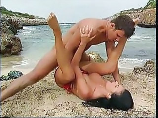 Babe Beach European German Hardcore Outdoor