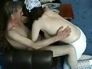 Amateur Daddy Daughter Old and Young Russian