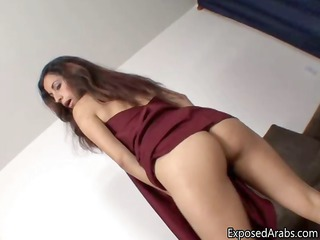 awesome arab angel gets horny and plays part6