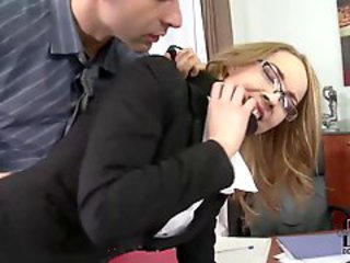 Glasses Hardcore MILF Office Secretary