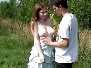 Girlfriend Natural Outdoor Teen