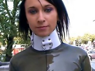 Fetish Latex Outdoor Public Teen