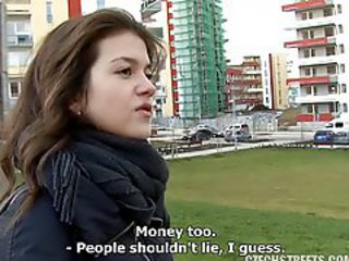 Amateur Cash Cute Outdoor Public Teen