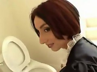 Maid Teen Toilet Uniform