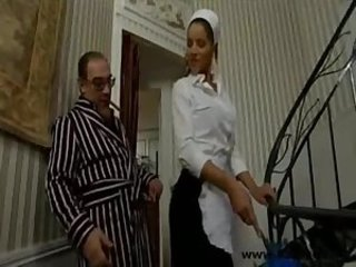 Babe Daddy Maid Old and Young Uniform Vintage