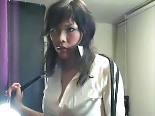 Blouse Collar Up Torture Girl