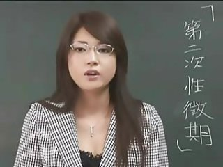 Erika Sato - Woman Teacher Nakadashi Anal Attack