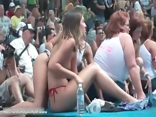 Huge party outdoor becomes really nasty part2