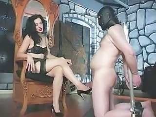 Sexy Mistress Plays Rough With H...