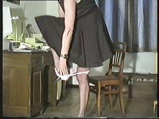 Amateur Mature Stockings Stripper