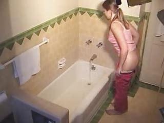 Bathroom Homemade Teen Voyeur