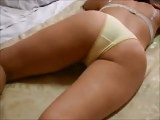 Amateur Ass Homemade Lingerie Panty Wife