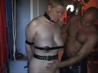 restrained mature slave