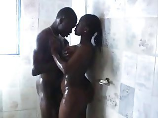 african shower sex