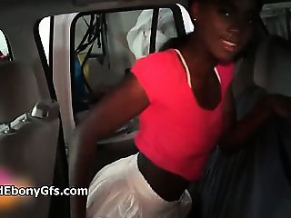 Homemade video of a cute black girl part2