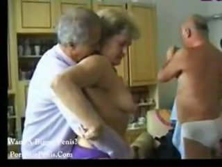 Granny Groupsex Homemade Orgy