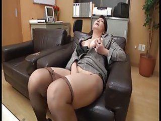Masturbating Mature Orgasm Pantyhose
