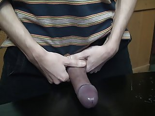 painful slapping cock