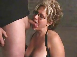 Mature Blow and Cum