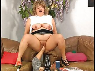 German fat bbw fisted, toyed and fucked